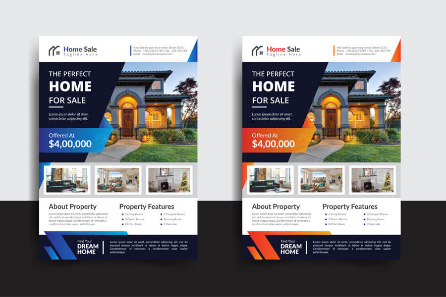 for sale flyer templates