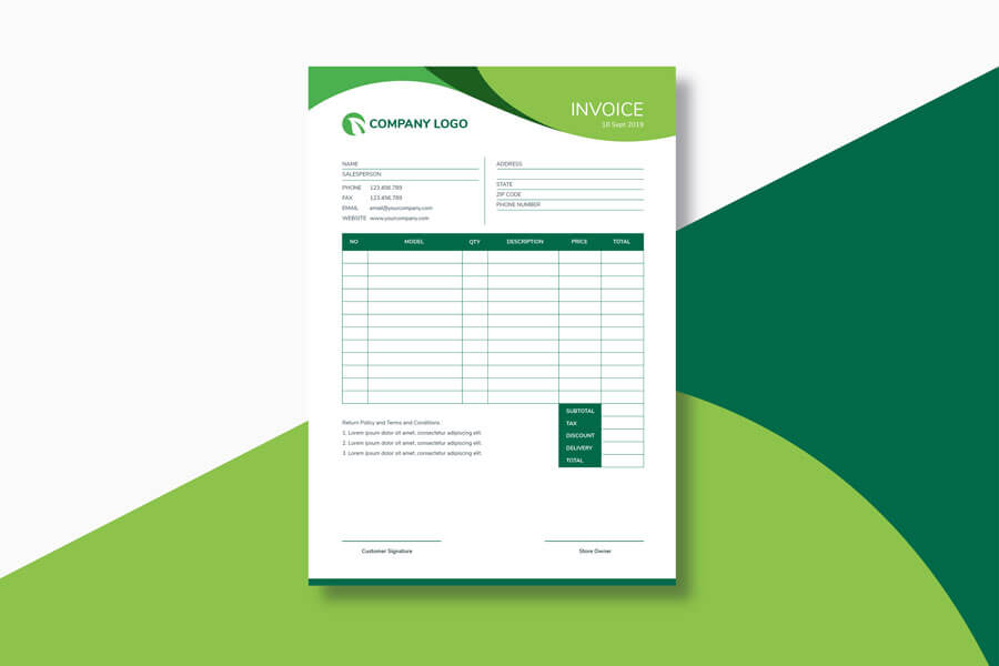 7 Free Blank Invoice Templates Excel Word Make Quick Invoices