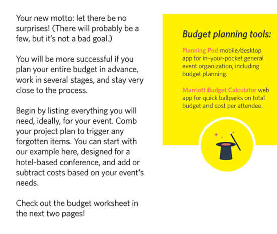 free event budget template google sheets 1