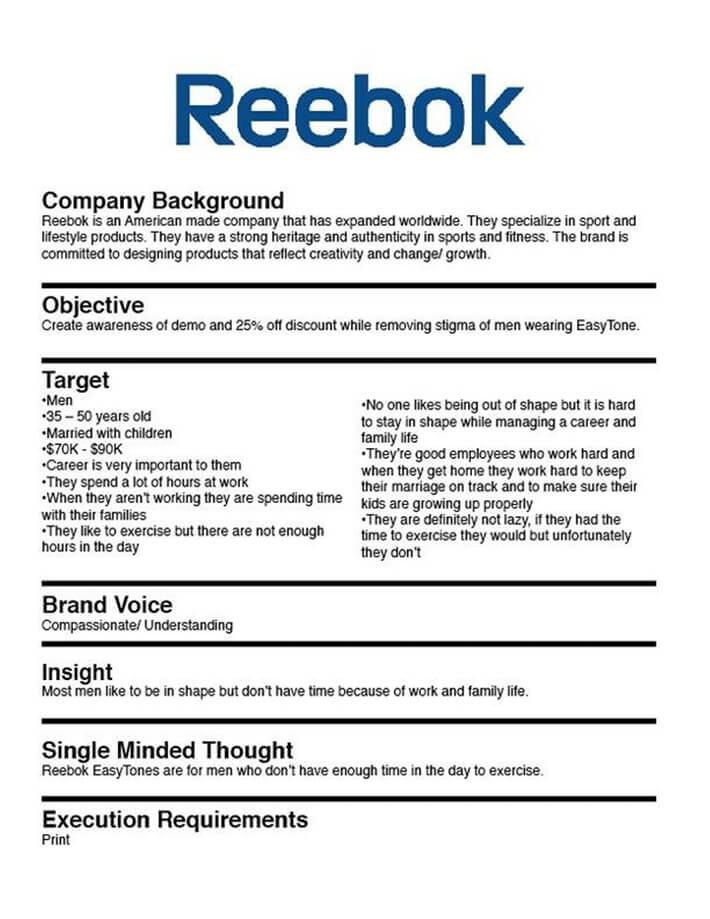 internal marketing brief template 1