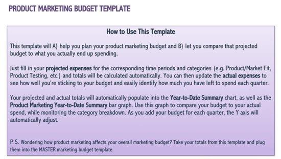 how to prepare a marketing budget 1