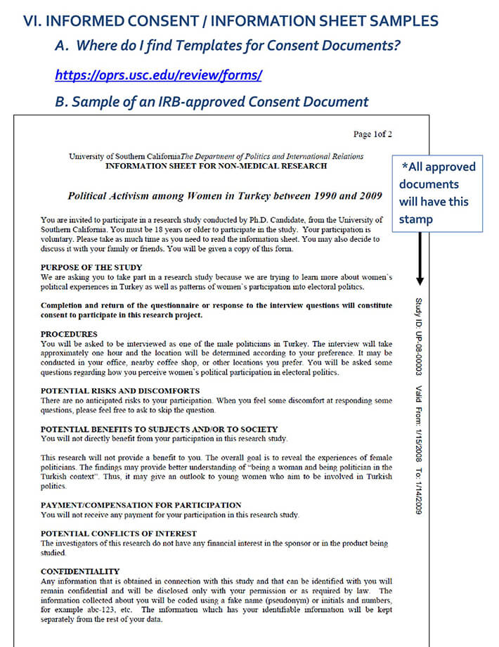 Research Informed Consent Booklet