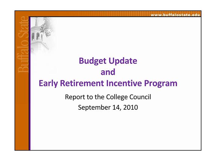 retirement budget example