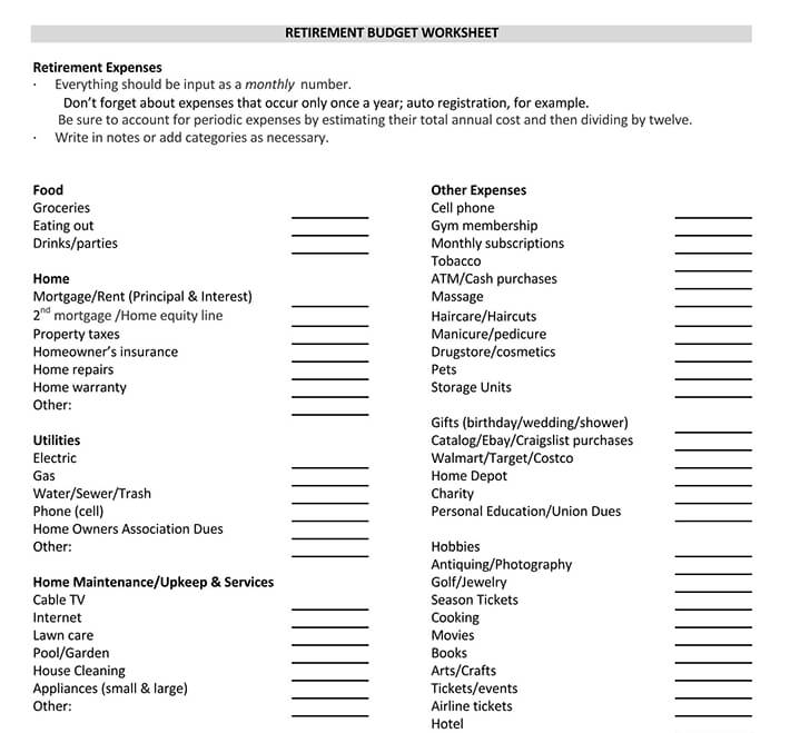 ultimate retirement calculator life spreadsheet