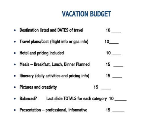 travel expense spreadsheet 1