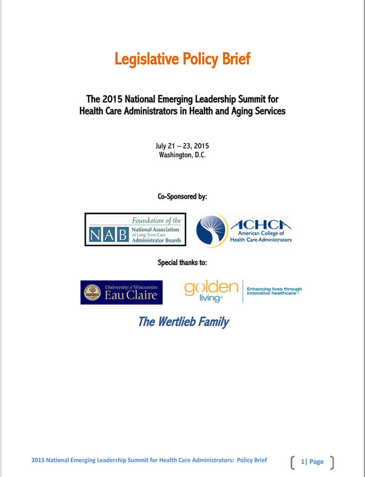 blank policy brief template