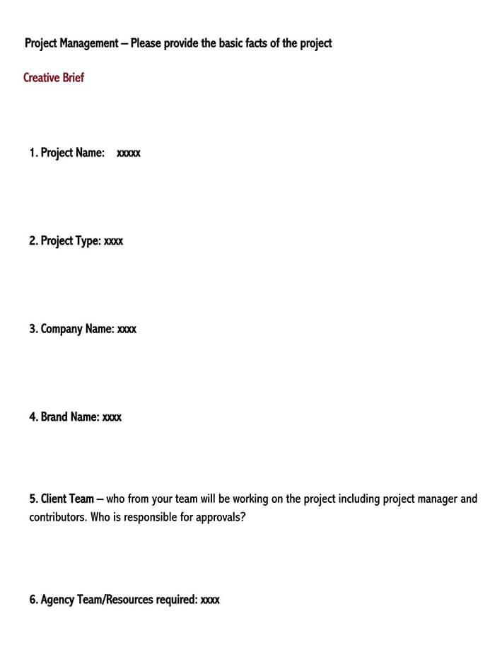 creative brief template google docs 2