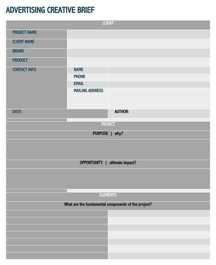 marketing campaign brief template 1