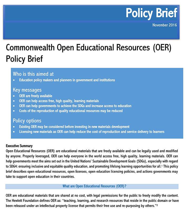 policy brief design template free 1