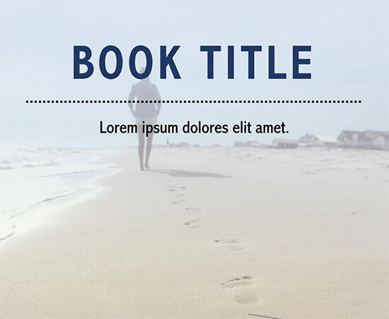 microsoft word book cover template free download