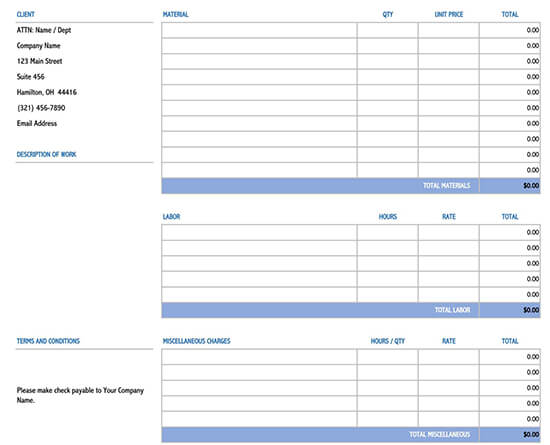 free job estimate template pdf 02-2020
