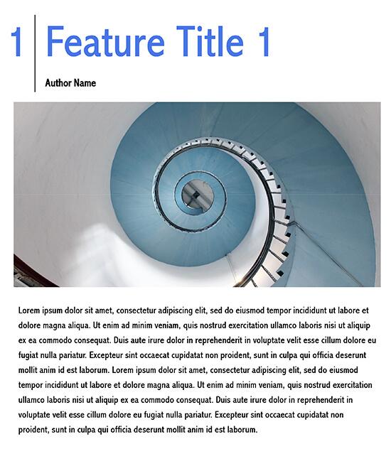 free magazine template indesign