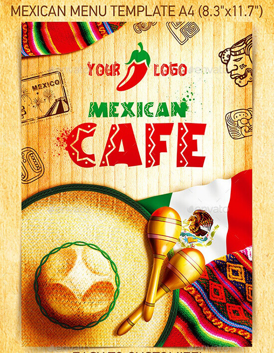 Mexican-Menu-Template