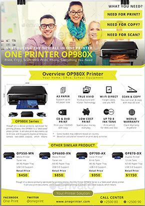 Multi-purpose Advertising Flyer