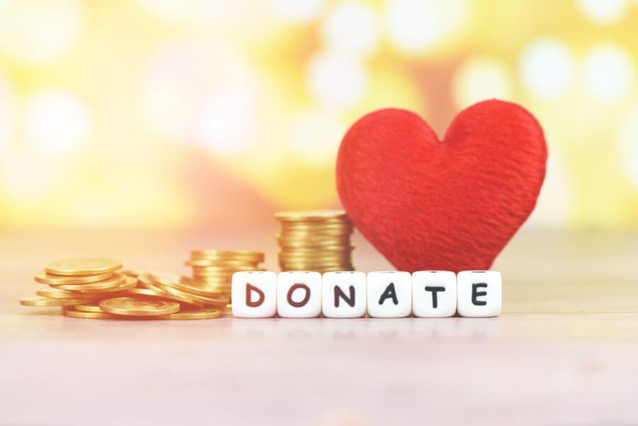 Non-profit donation
