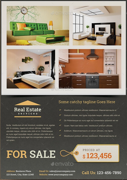 Real Estate for Sale Flyer