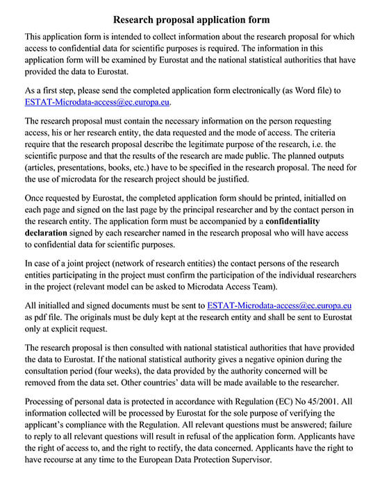 research proposal template apa