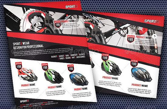 Sport Wear Advertising Flyer