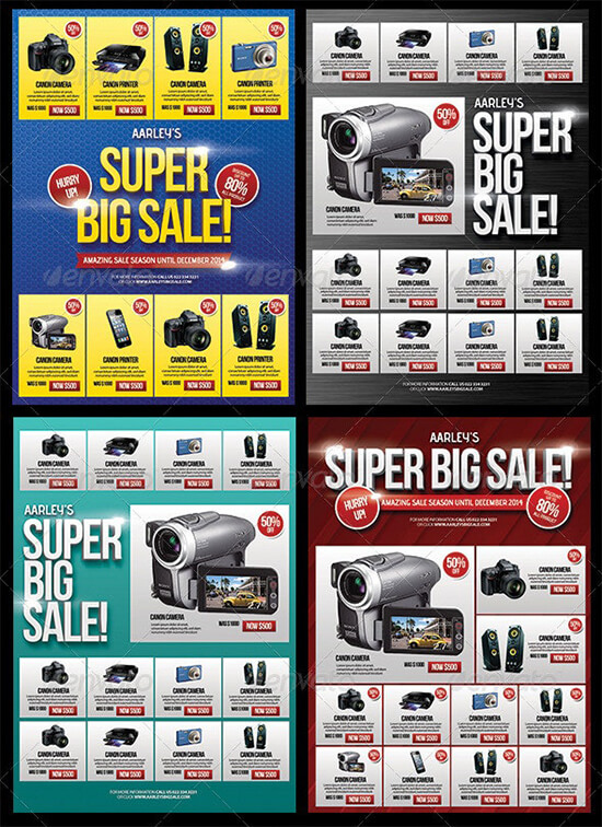Super Big Sale Flyer Template