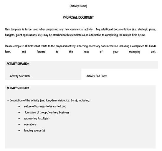 business proposal template word doc free download 01