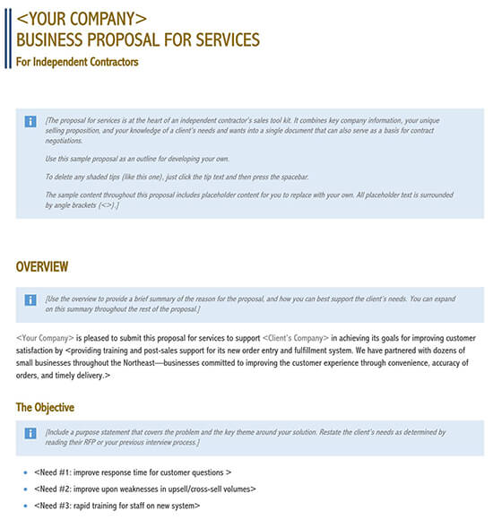 business proposal sample pdf 01