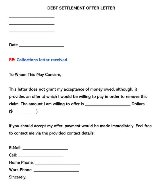 Free Collection Letter Template from www.wordtemplatesonline.net