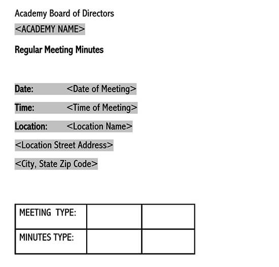 meeting minutes template doc 01