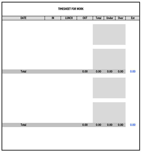 monthly timesheet template 02