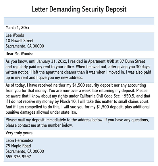 Demand Letter Template California from www.wordtemplatesonline.net