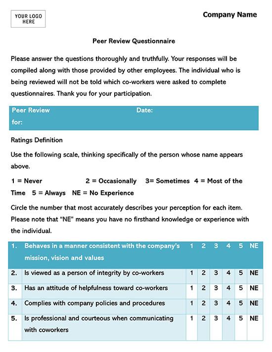 Standard Employee  Form