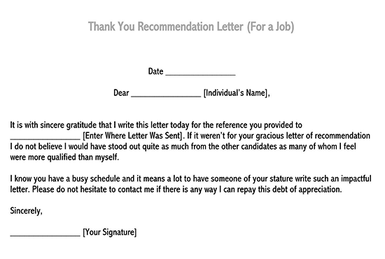 recommendation letter sample for student 03