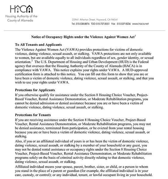 rental application denial letter florida