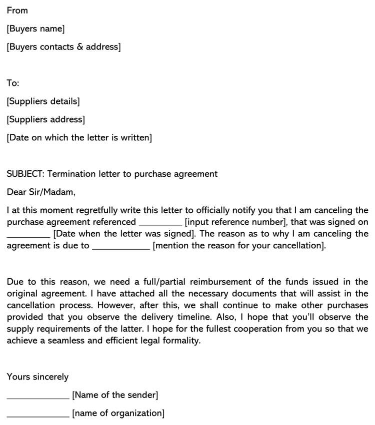 Letter Of Termination Of Contract from www.wordtemplatesonline.net
