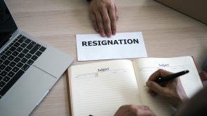 Pro resignation