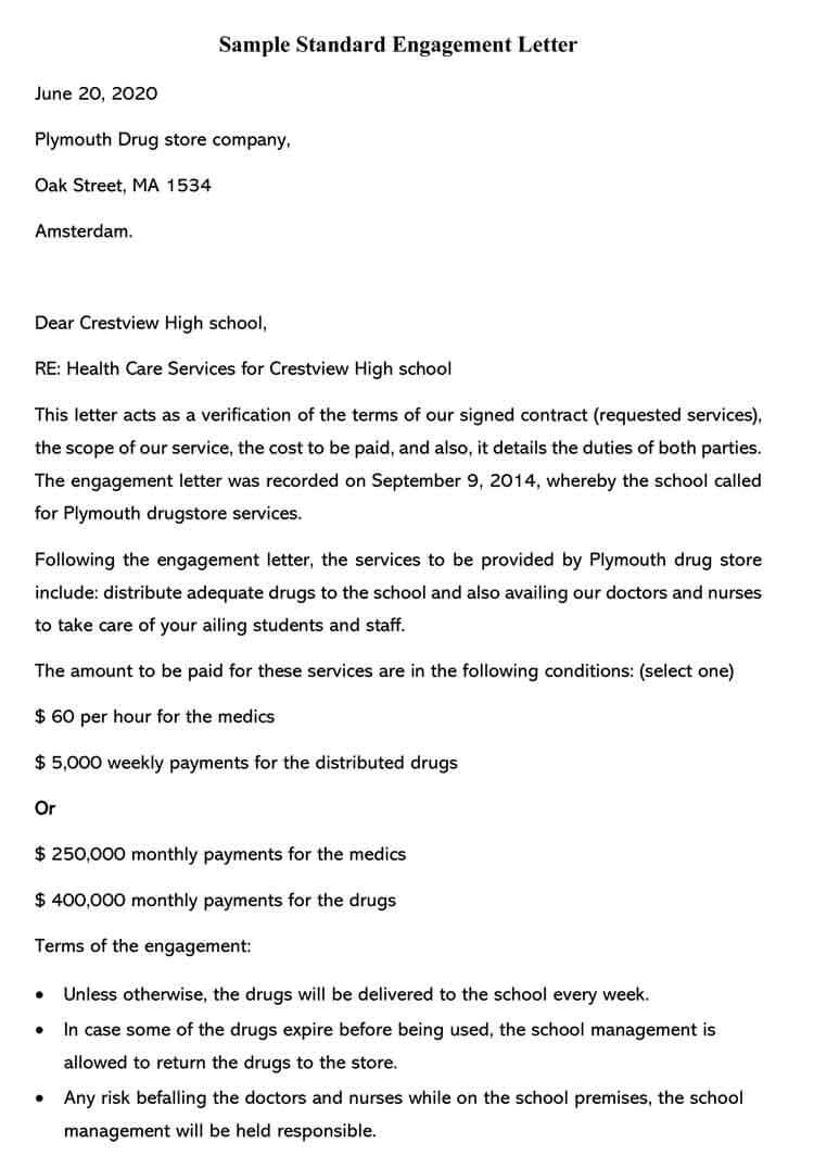 Free Engagement Letter Templates & Samples (Word | PDF)