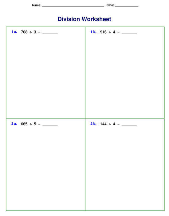Division Problem with Three-digit Division