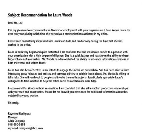recommendation letter for employee from manager pdf 01
