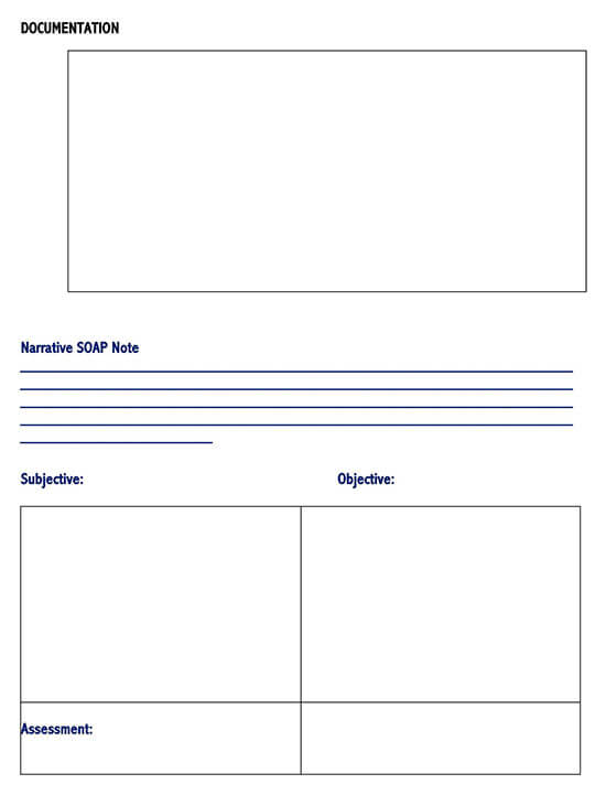 SOAP Note Example Template 05
