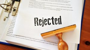 Tenant rejection