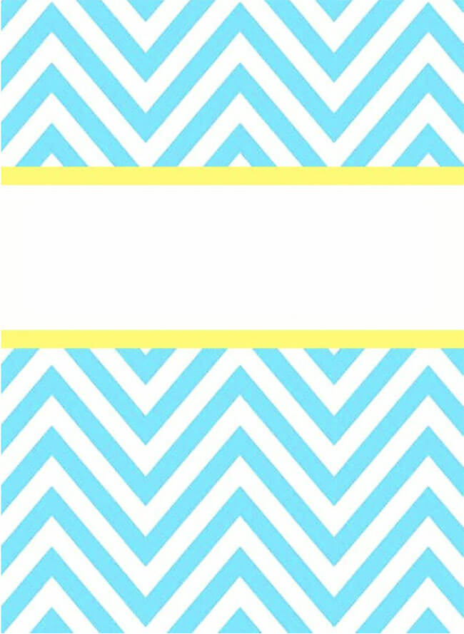 Binder Cover Template 05