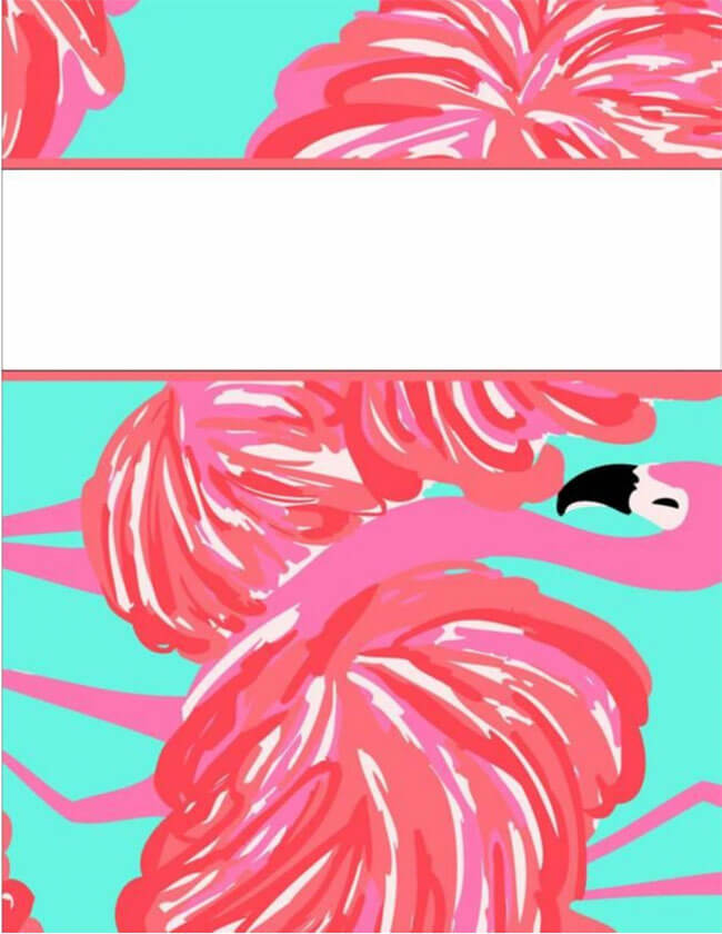 Binder Cover Template 06