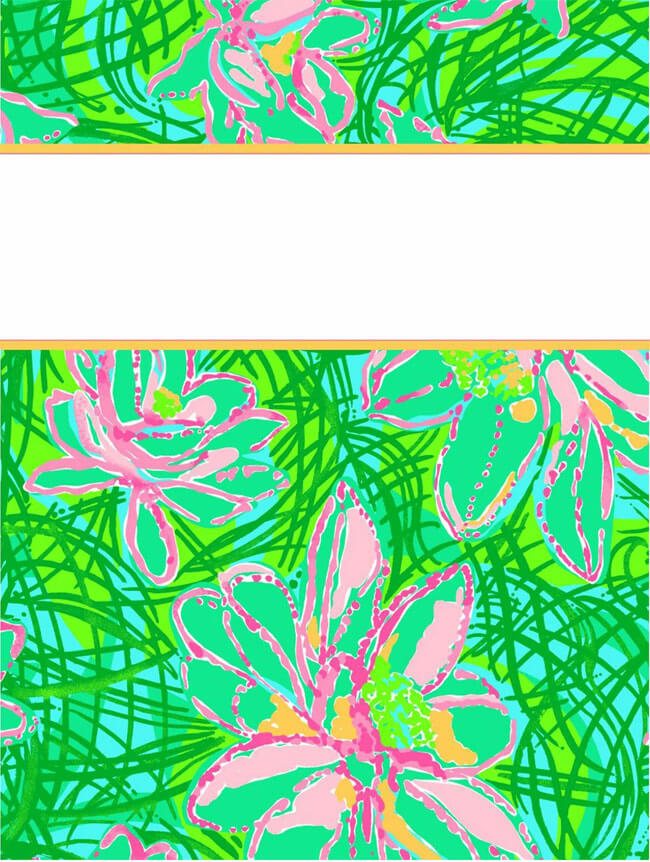 Binder Cover Template 13