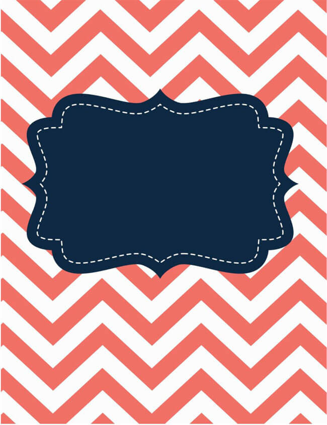 Binder Cover Template 15