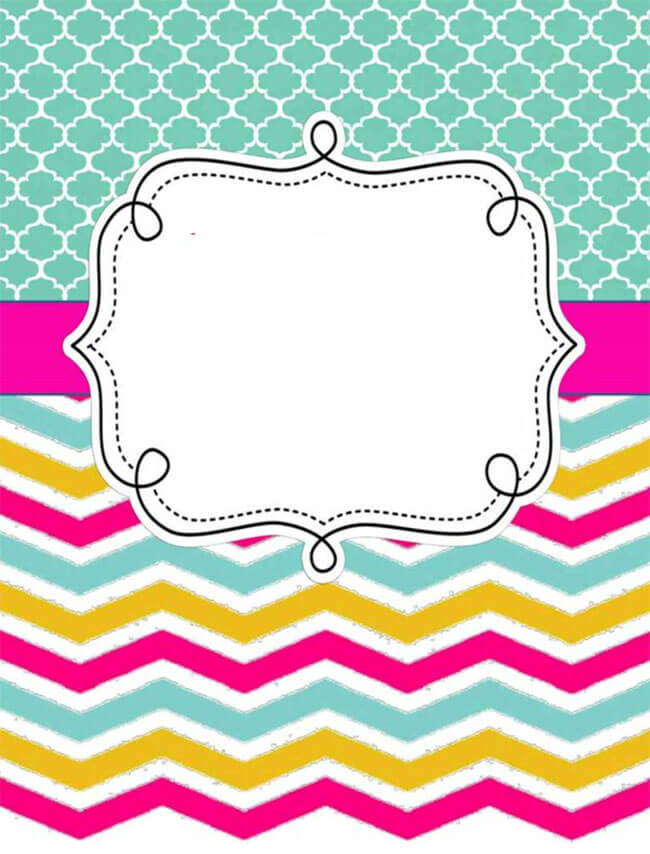 Binder Cover Template 16