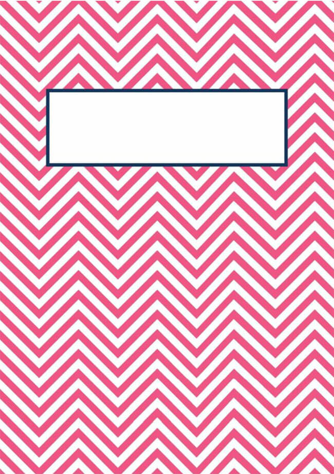 Binder Cover Template 18