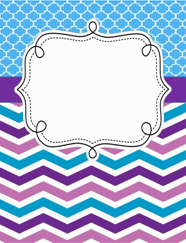 Binder Cover Template 20