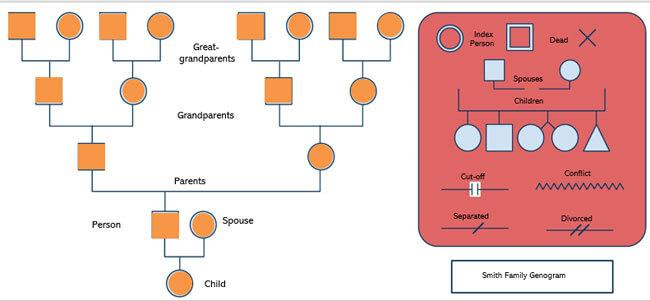 Genogram Template 04