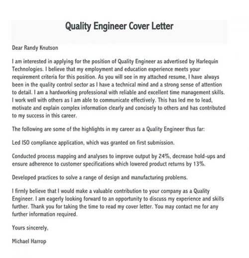 sample cover letter for job application 01