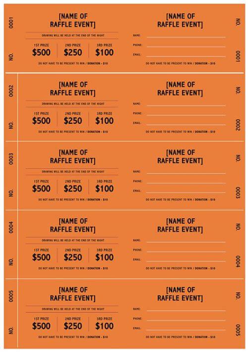 raffle ticket template excel 01