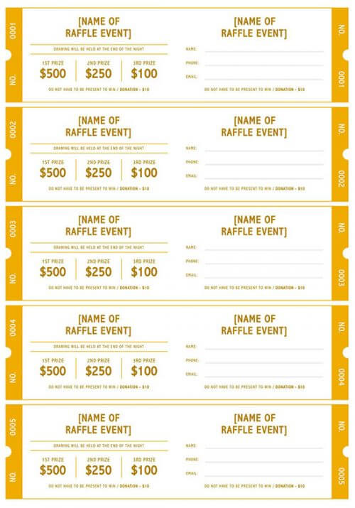 numbered raffle ticket template 01